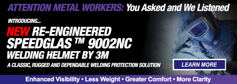 3M Re-Engineered Speedglas 9002NC Welding Helmets, Click for Details