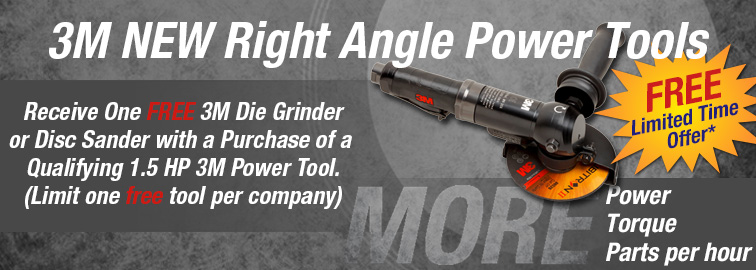 3M NEW Right Angle Power Tools - Limited Time Offer, Click for Details