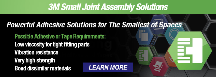 3M Small Joint Assembly Solutions, Click for Details