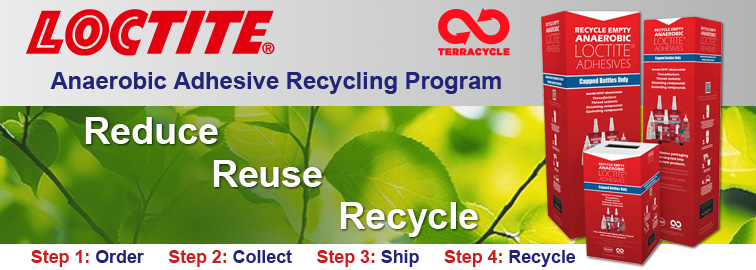 Loctite Terracycle, Click for Details