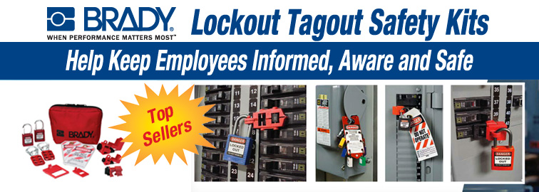 Brady Lockout Tagout Safety Kits, Click for Products
