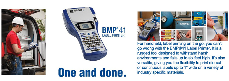 Drag and Drop the BMP41 Label Printer Kit To Your Cart