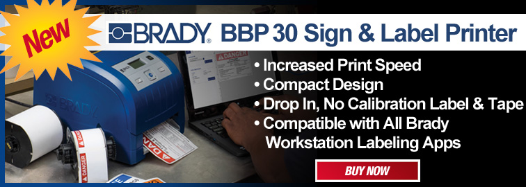 Brady BBP30 Printer, Click for Details