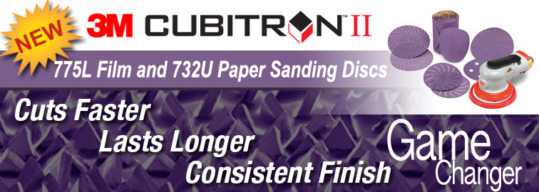 Shop Now for 3M Cubitron II 775L & 732U Sanding Discs