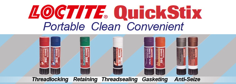Loctite Quickstix, Click for Products
