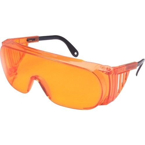 9b99d81e3d3 Loctite Polycarbonate Standard Safety Glasses Orange Lens - Wrap Around  Frame - 079340-98452