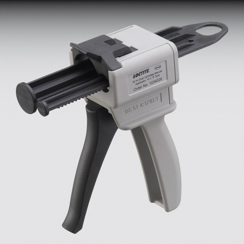 2dc76aa3e Loctite 1034026 2-Part Applicator Gun - Supports 50 ml S-50 Cartridge -  Manual - 10 1 Mix Ratio - 1034026