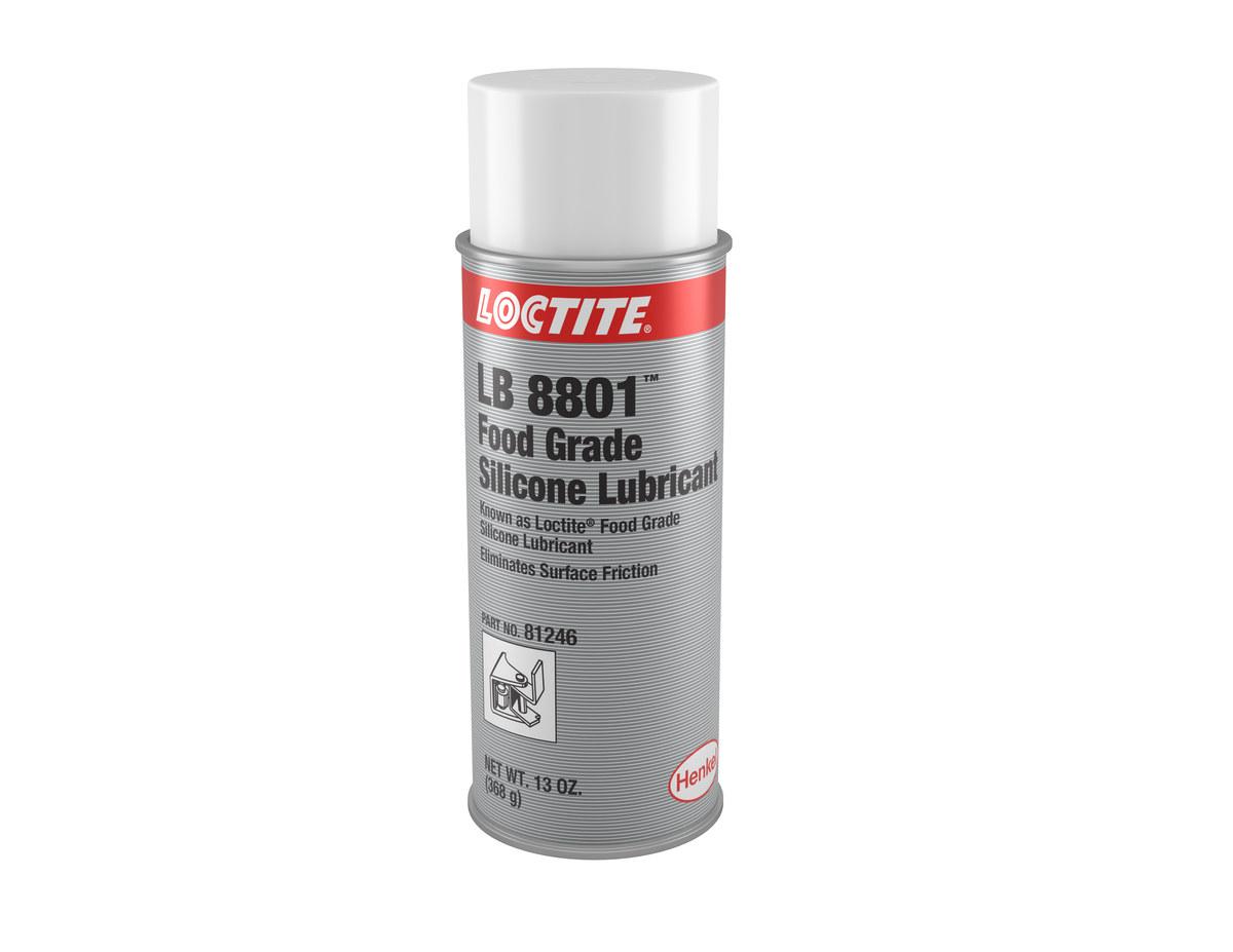 Loctite LB 8801 Lubricant, 13 oz Aerosol Can, 81246