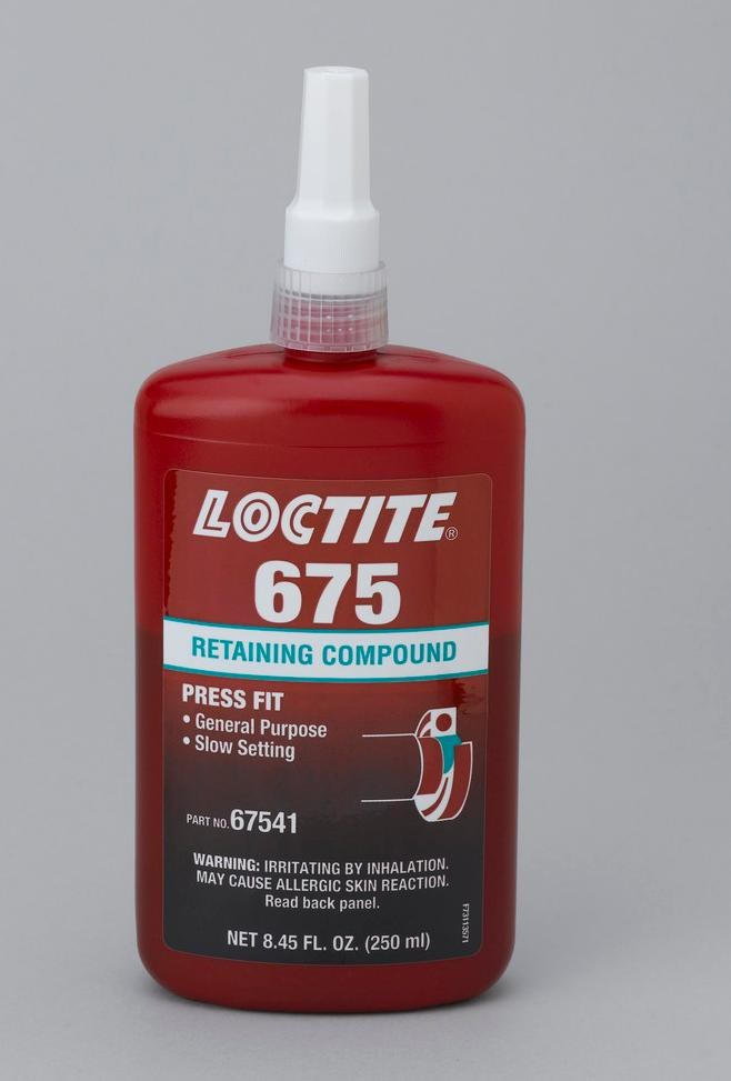 Loctite Rc675 Retaining Compound 67541 Idh 135533 250 Ml Bottle Green Rshughes Com