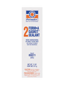 Permatex Form-A-Gasket 2C Gasket Sealant 80011, 11 oz Tube, Black