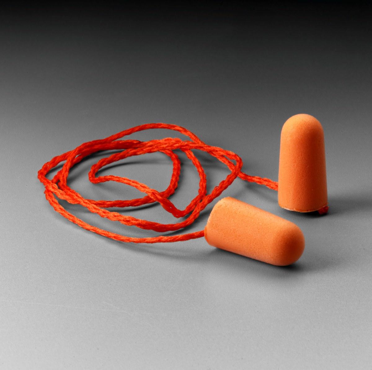 3M 1110 Ear Plugs 29009, Universal, Polyurethane Foam