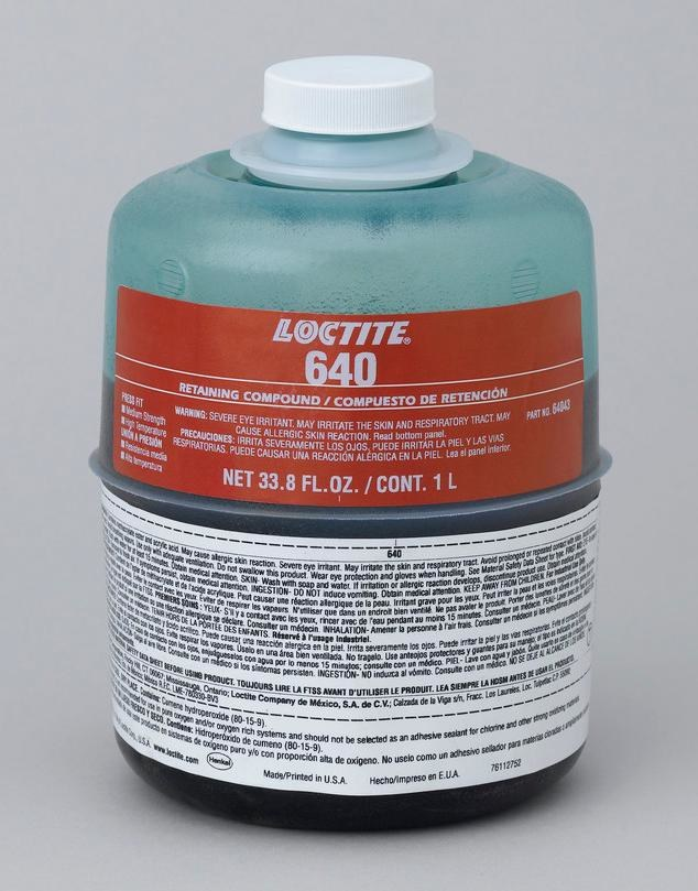 Loctite 640 Green Retaining Compound 64043 Idh 209764 1 L Bottle Rshughes Com