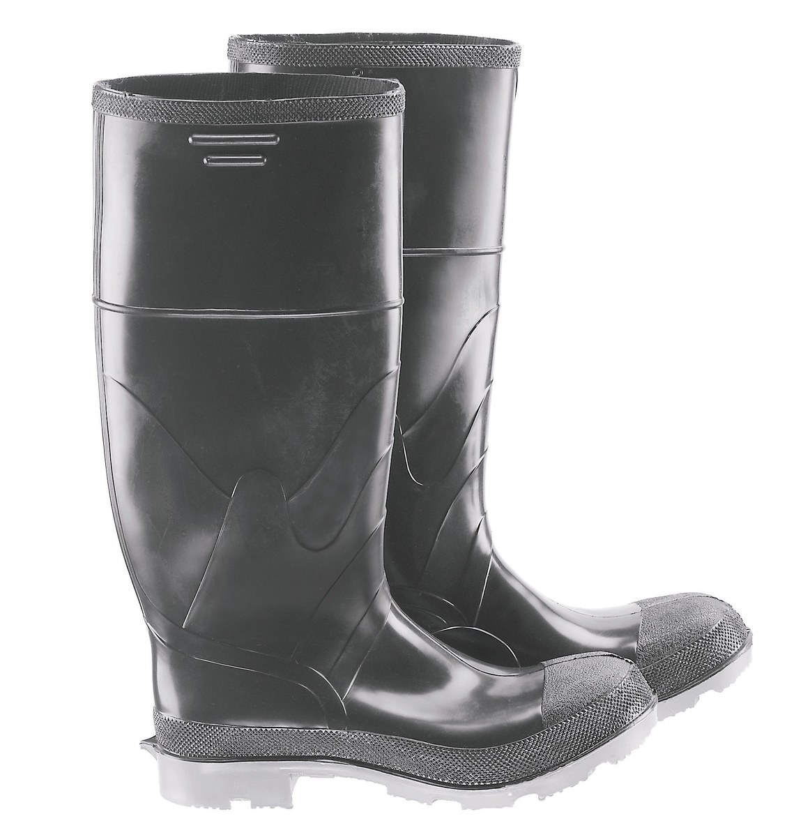 78bf10047e1 Dunlop Chemical-Resistant Boots 861010700, Size 7, Polyurethane/PVC ...