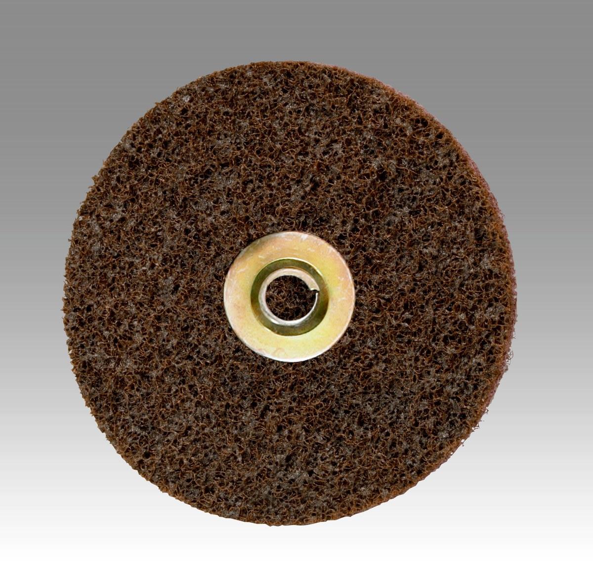 20000 RPM 1-1//2 in Disc Dia Aluminum Oxide Non-Woven Finishing Disc 180 Units