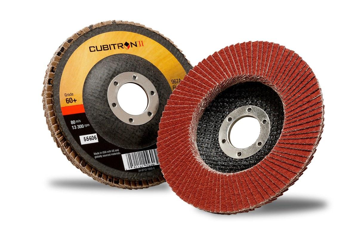 3 m Cubitron II Meules pneus 737u 70 mm x 396 MM p320+ 50 Pcs