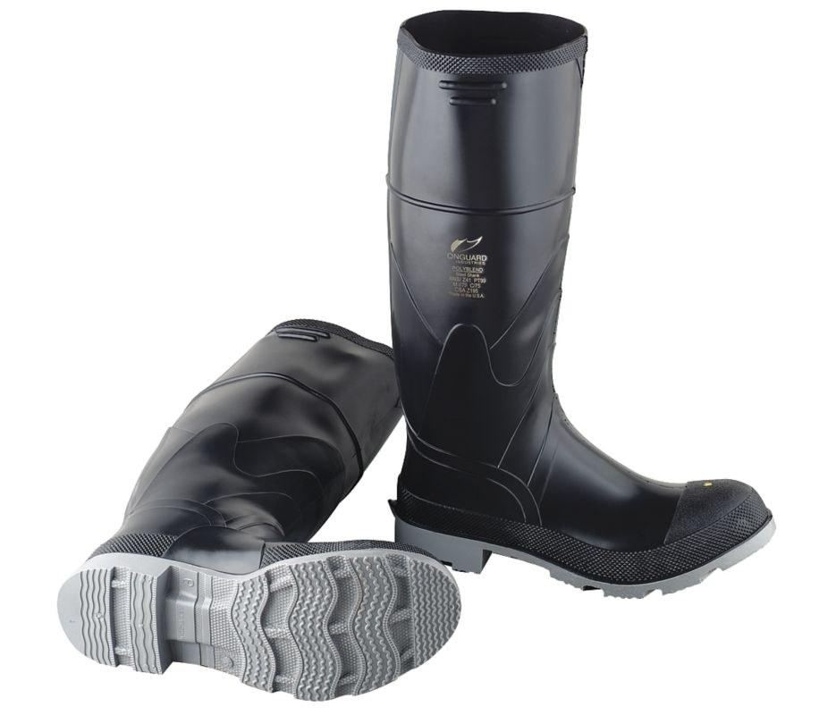 0d35969044e Dunlop Chemical-Resistant Boots 861021000, Size 10, Polyurethane/PVC ...