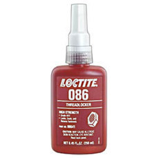 Loctite 086 Threadlocker 8641, IDH:214166, 250 ml Bottle