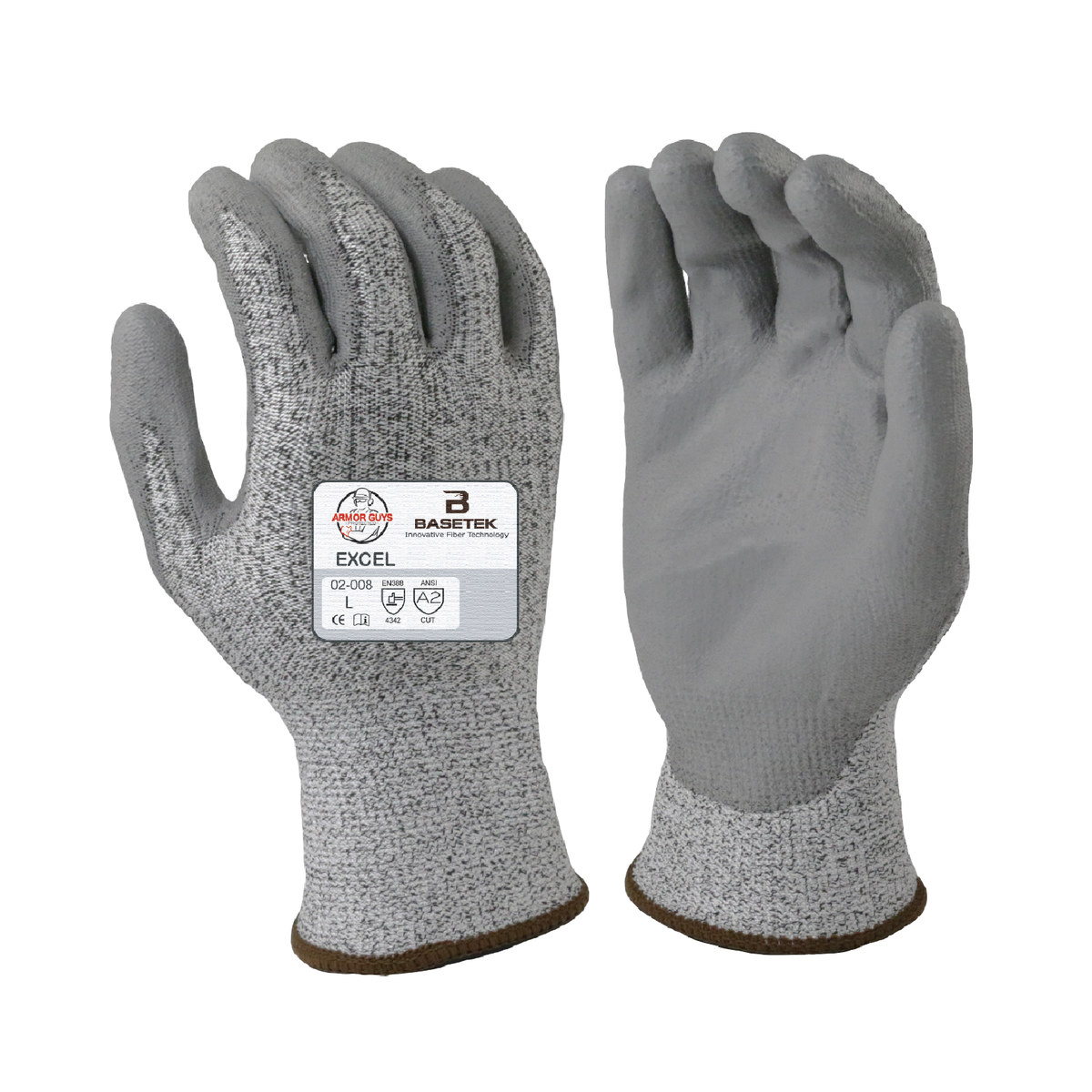 Personal Protective Equipment (ppe) Yard, Garden & Outdoor Living Scan Grey Pu Coated Cut 5 Gloves Size 8 Medium High Quality And Low Overhead