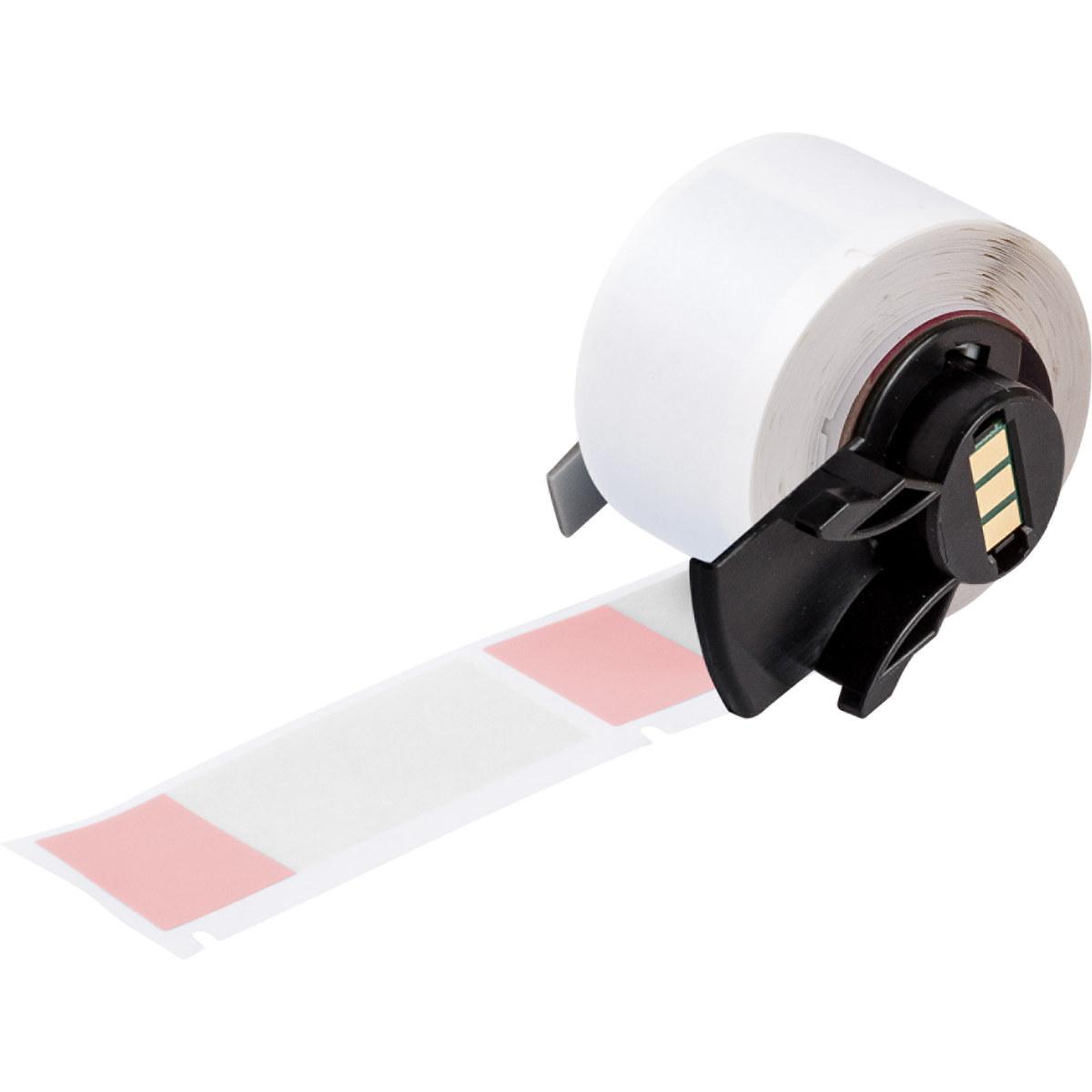 Brady PTL-21-427-RD Die-Cut Printer Label Roll, 1 in x 2 1/2