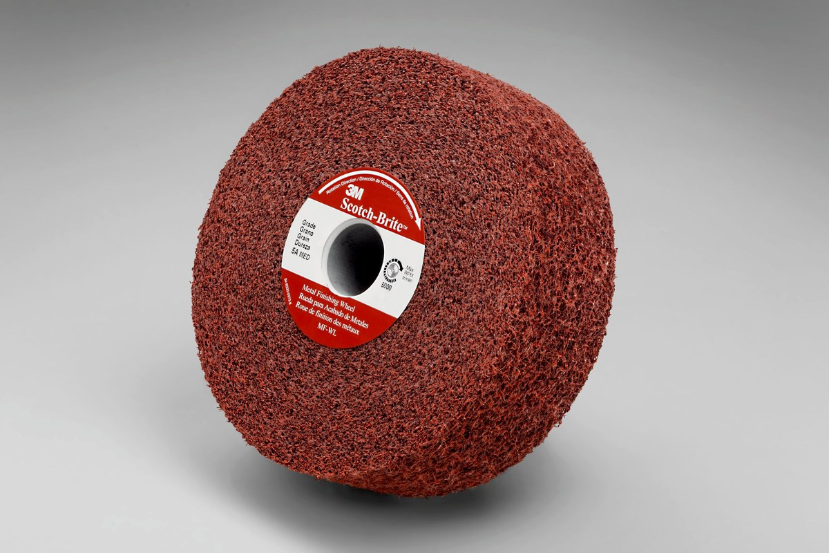 Fine 3M Scotch Brite Surface Grinding Wheel 30010 6 In Aluminum Ncnpc Chair Design For Home Ncnpcorg