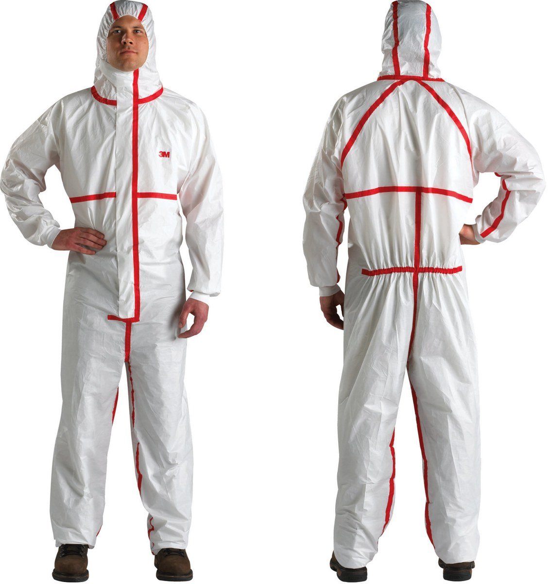 Protective Overall Coverall Suit Polypropylene Light Duty,for Laboratory,DIY Work,Workshop,Outdoor Working