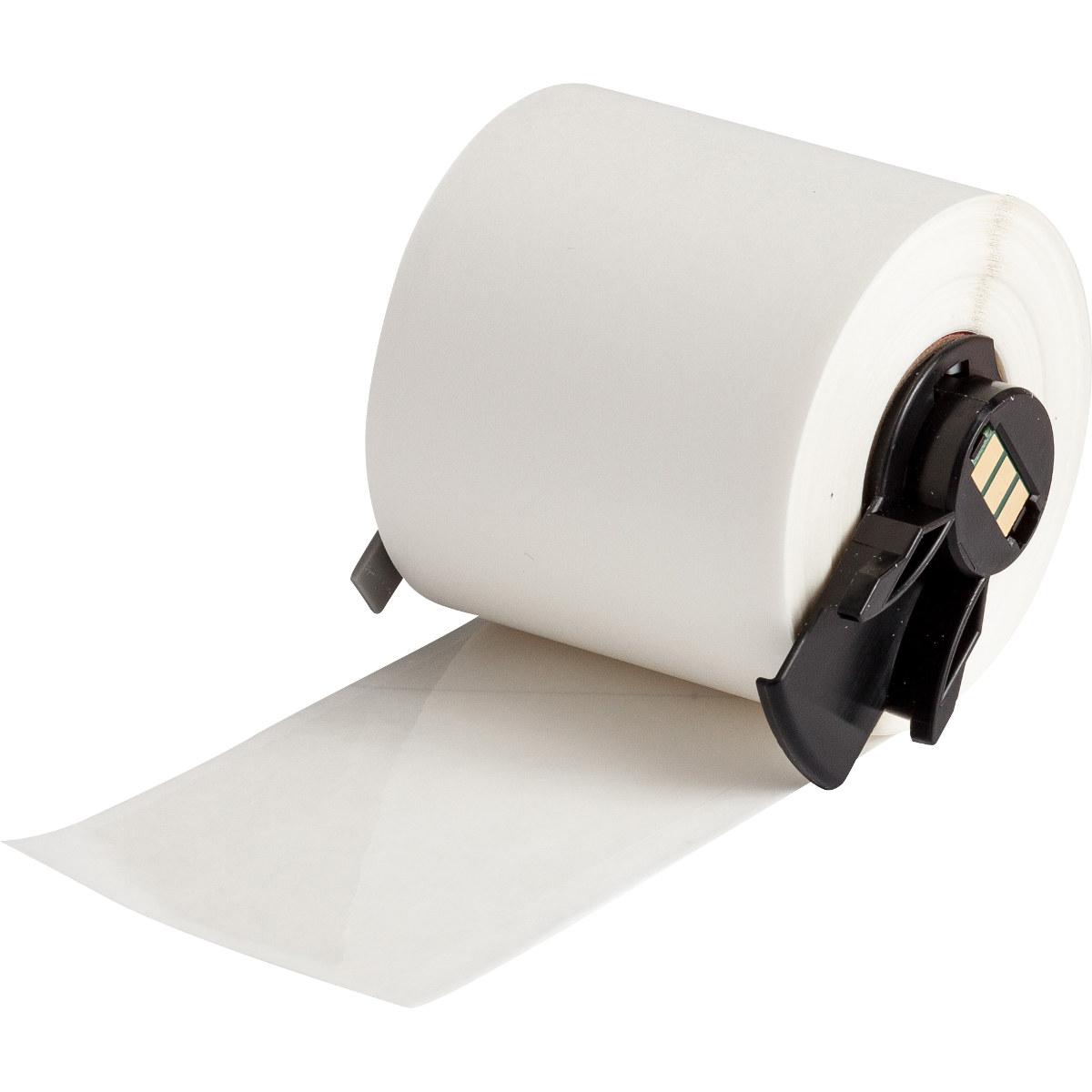 Brady PTL-43-430 Printer Label Roll, 1 9 in x 50 ft