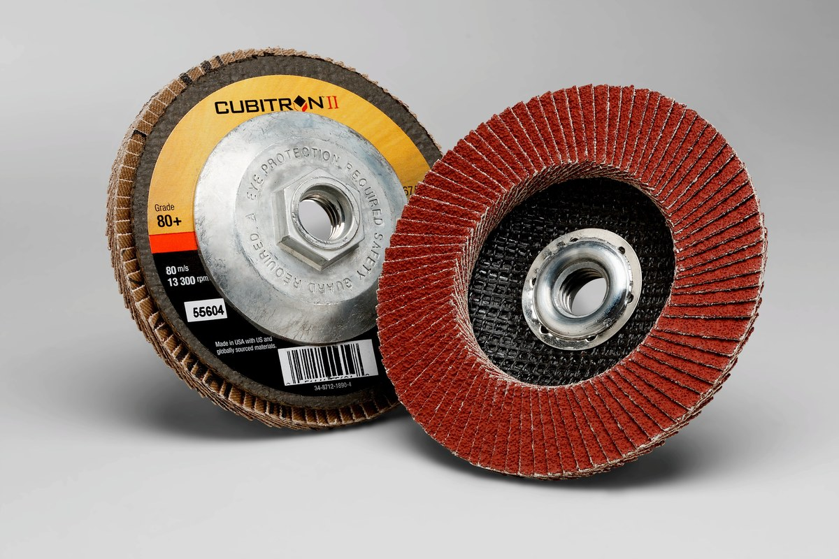 100 Units : 3//4 x 1 Aluminum Oxide ID x L 80 Grit Standard Abrasives Spiral Band,
