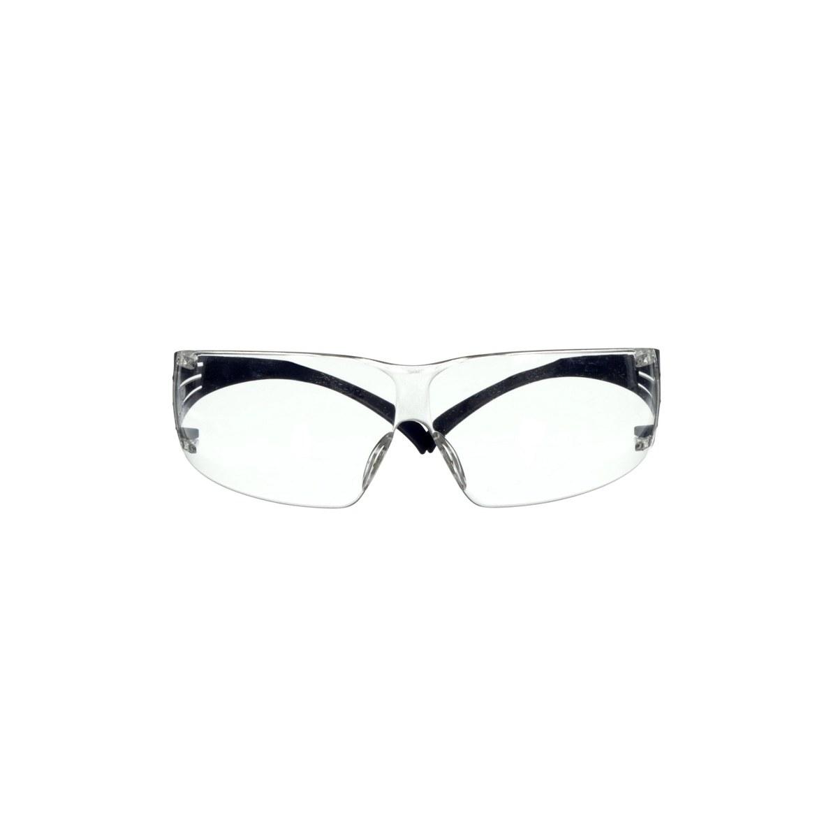 fac9671d637 3M SecureFit 200 SF201SGAF-BLU Universal Polycarbonate Safety Glasses Clear  Lens - Clear Frames