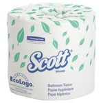 Scott White Bathroom Tissue - 2 Ply - 04460