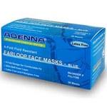 ADENNA Blue Universal Flat Fold Surgical Mask - ADENNA FEL110B