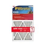 3M Filtrete 20 in x 30 in x 1 in 9822DC MERV 11, 1000 MPR Air Filter - 09822