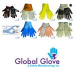 Global Glove PB100 Black ID Wristband - PB100-L/XL LG/XL