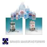 Braco Manufacturing Fog Be Gone Lens Cleaning Station - 600 Tissues/Towelettes - Anti-Fog - 600FBG