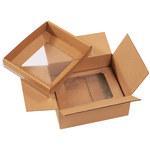 Shipping Supply Kraft Korrvu Suspension Packaging - 12 in x 10 in x 5 in - SHP-2320