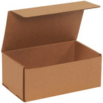Shipping Supply Kraft Corrugated Mailers - 10 in x 6 in x 4 in - SHP-13719