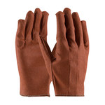 PIP 61-249L Red Large Cotton General Purpose Gloves - Straight Thumb - Vinyl Full Coverage Coating - 61-249L/L