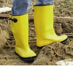 West Chester 8200 Yellow 9 Waterproof & Rain Boots - 17 in Height - Calcium Carbonate/Latex Upper - 662909-820099