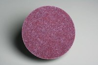 3M Scotch-Brite GB-DM Non-Woven Ceramic Maroon Quick Change Disc - Coarse - 2 in Diameter - 60374