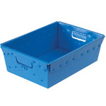 Blue Space Age Totes - 18 in x 13 in x 6 in - SHP-3069