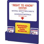 Brady RTK Information Centers - 30 in Length x 24 in Width x 4 1/2 in Height - 2001