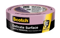 3M Scotch 2080 Delicate Surface Purple Masking/Painter's Tape - 0.94 in Width x 60 yd Length - 79748