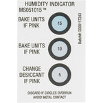 Shipping Supply White Humidity Indicators - 3 in x 2 in - SHP-8367
