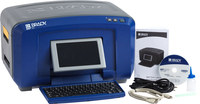 Brady BBP 35 Desktop Label Printer Barcode Capability Multi-Color - 4 in Max Label Width - 5 in/sec - 300 dpi - BBP35