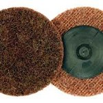 Dynabrade Non-Woven Maroon Quick Change Disc - Nylon Backing - Medium - 2 in Diameter - 78122