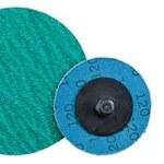 Dynabrade Coated Alumina Zirconia Quick Change Disc - 80 Grit - Medium - 2 in Diameter - 78101