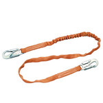 Miller Titan T5113 Yellow Shock-Absorbing Lanyard - 6 ft Length - 612230-08709