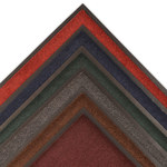 Notrax Dante 131 Charcoal Indoor Decalon Carpeted Entry Mat - 3 ft Width - 2 ft Length - Vinyl Backing Material - 131 2 X 3 CH