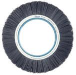 Weiler Ceramic Wheel Brush 0.035 in Bristle Diameter 80 Grit - Shank Attachment - 14 in Outside Diameter - 84925