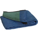 Shipping Supply Blue Deluxe Moving Blankets - 72 in x 80 in - SHP-2202