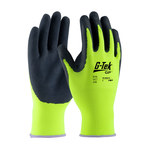 PIP G-Tek Lite 55-AG317 Yellow Large Latex Unsupported Chemical-Resistant Gloves - 9.8 in Length - Rough Finish - 55-AG317/L